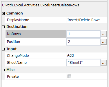 Insert and delete rows | Uipath Dojo