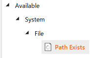 Check if the file exists | Uipath Dojo